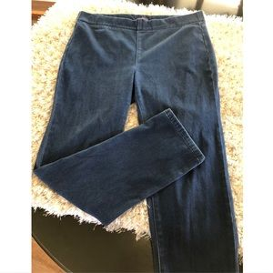 NYDJ Skinny Pull On Ankle Jeans Size 14